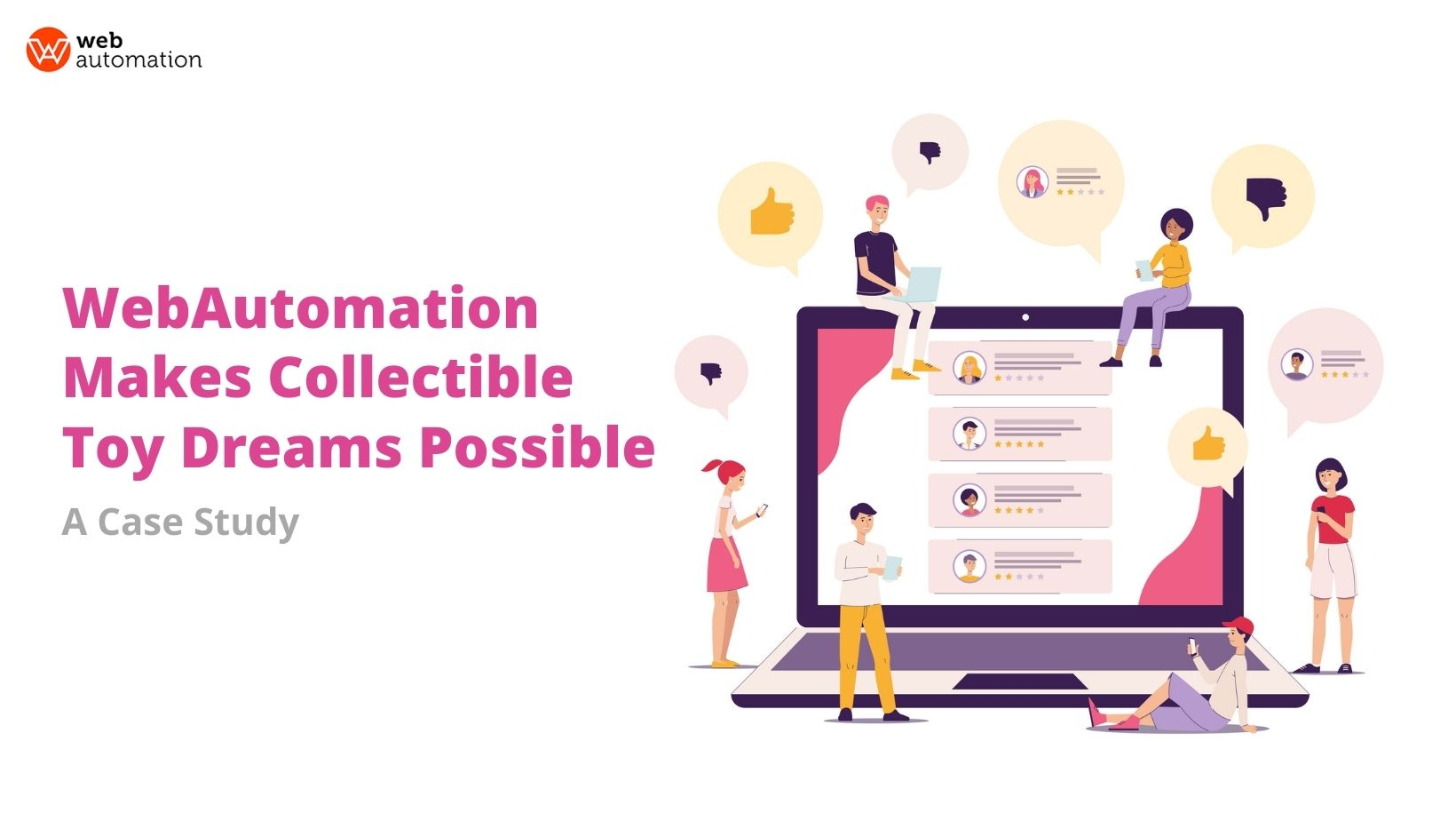 webautomation makes collectible toy dreams possible: a case study